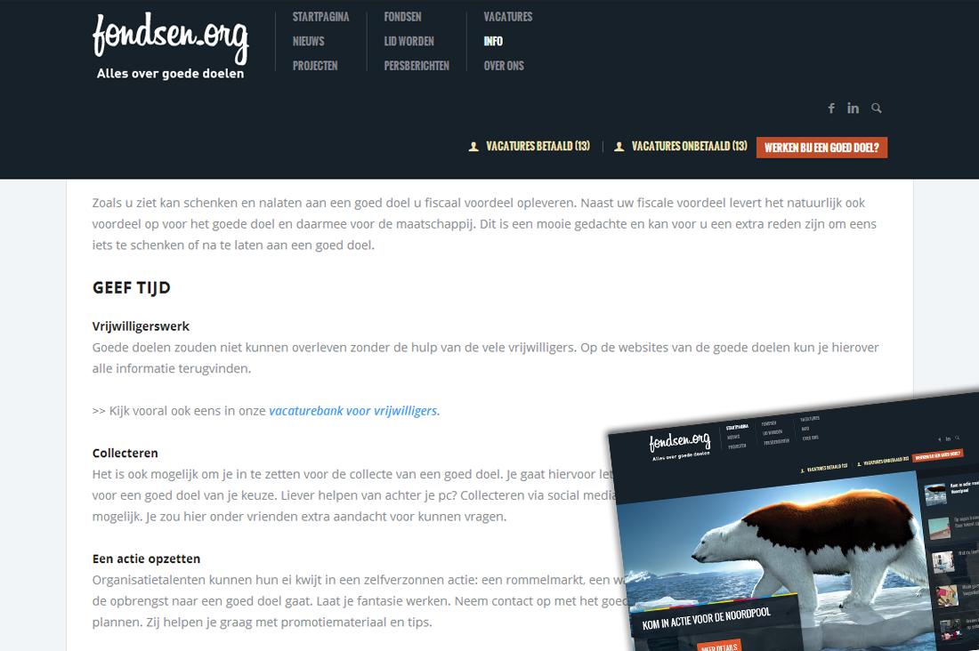 Webredactie Fondsen.org