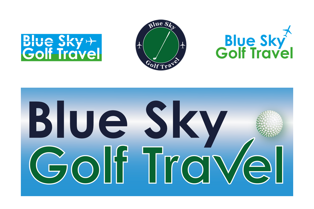 Logo ontwerp Blue Sky Golf Travel