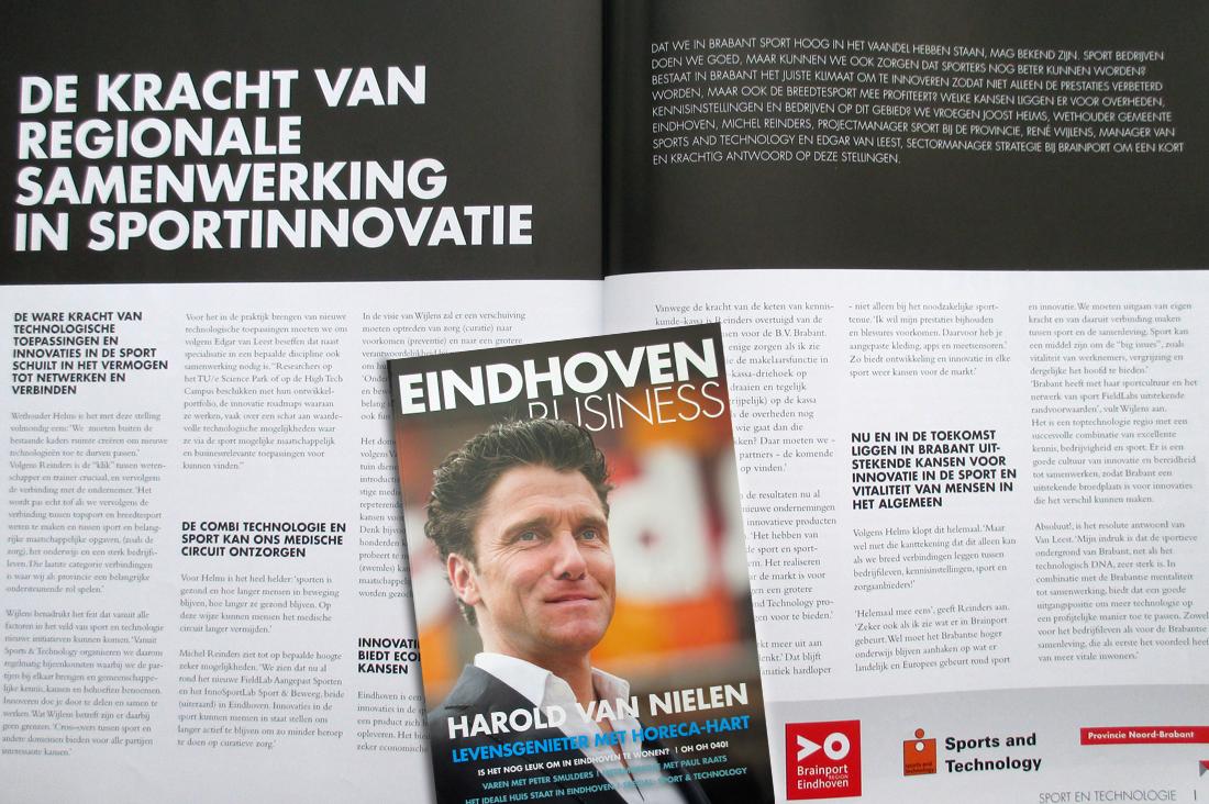 Tekstschrijven Eindhoven Business Magazine