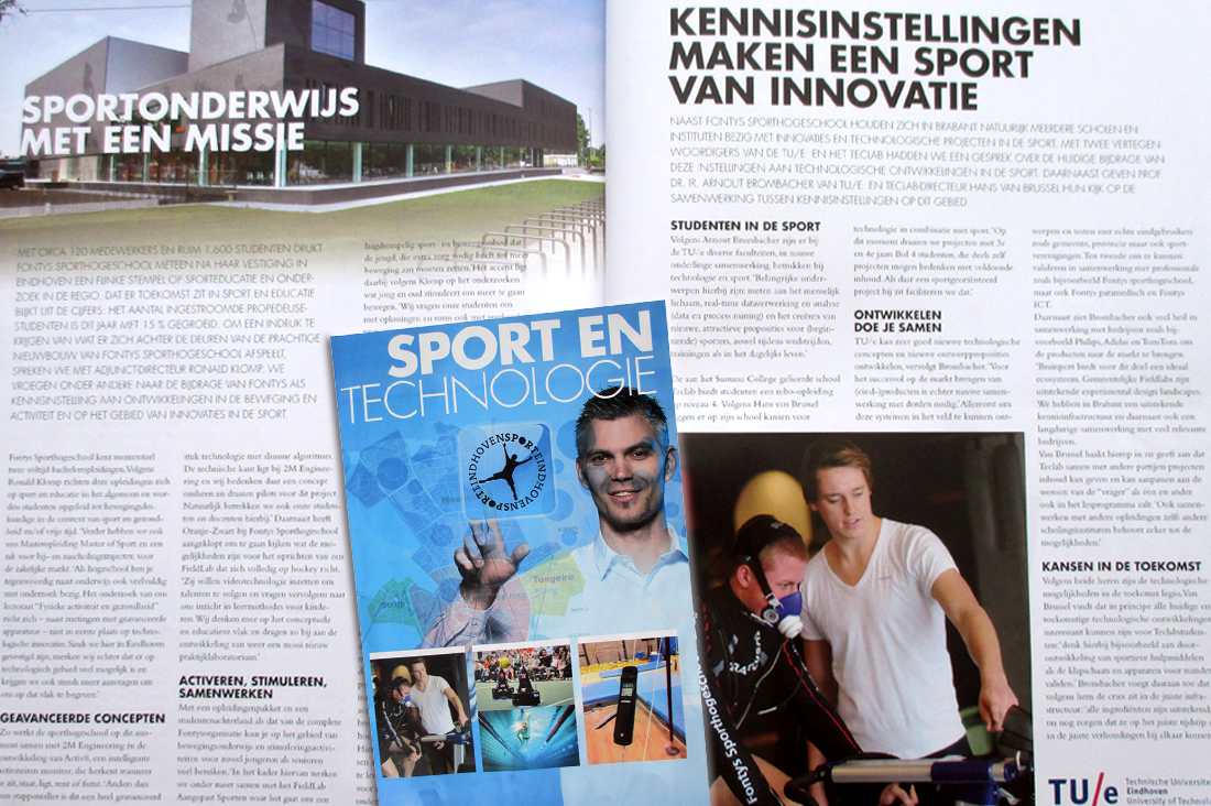 Tekstschrijven Sport & Technologie